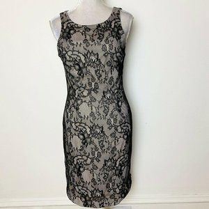 Vintage Karen Zambos Size Med Dress Bodycon Mini